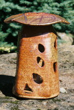 Shino Garden Lantern outdoors