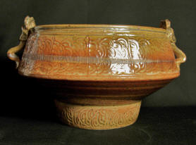 Large Shino Articulated Bowl